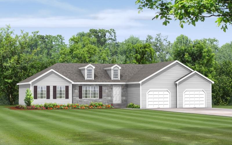 Dogwood Ranch Modular Home Floor Plan Apex Homes