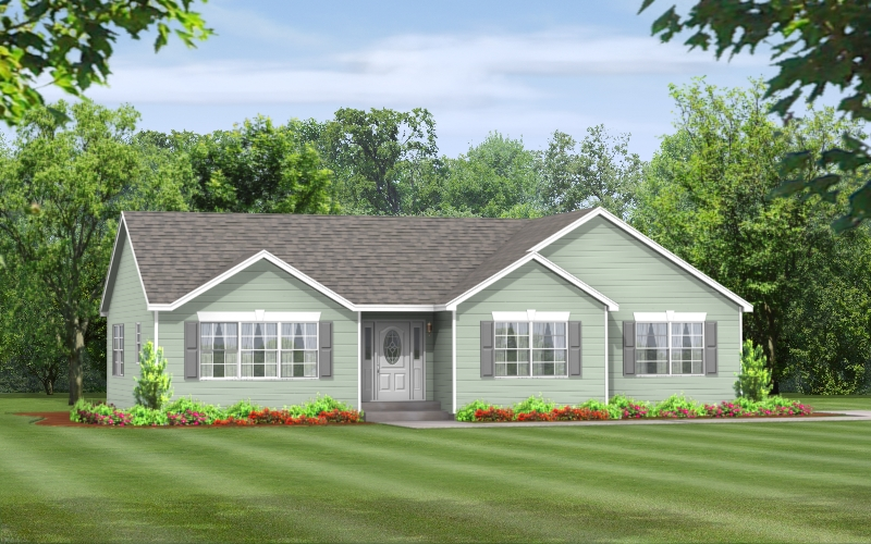 Elm Ranch Modular Home Floor Plans Apex Homes