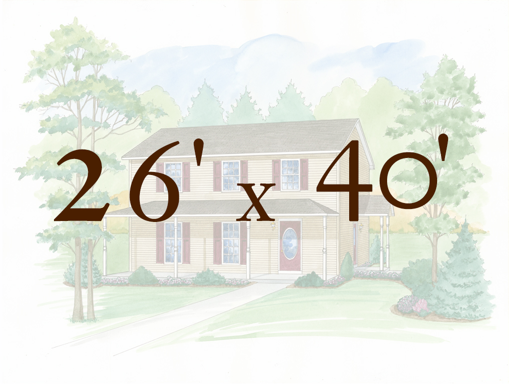 Alpine 26 X 40 Two Story Models 178 180 Apex Homes