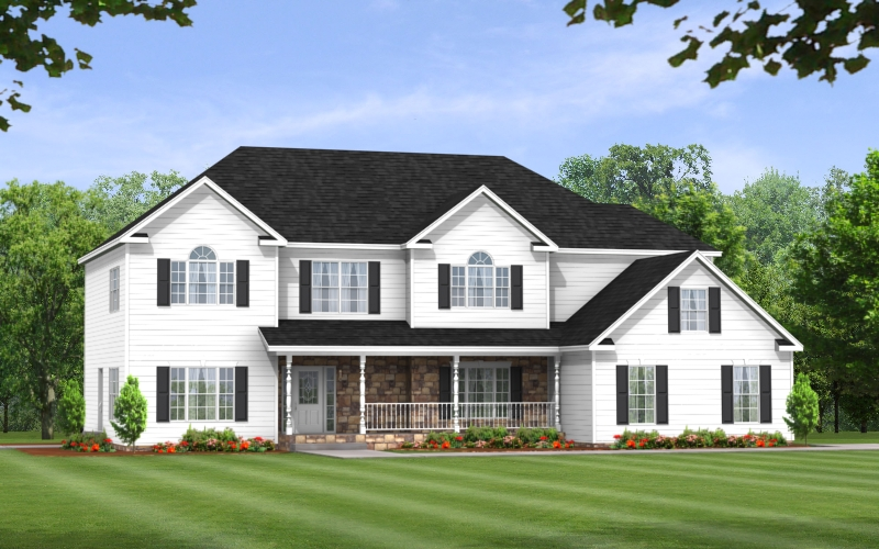 Ponderosa Two Story Modular Floor Plan Apex Homes