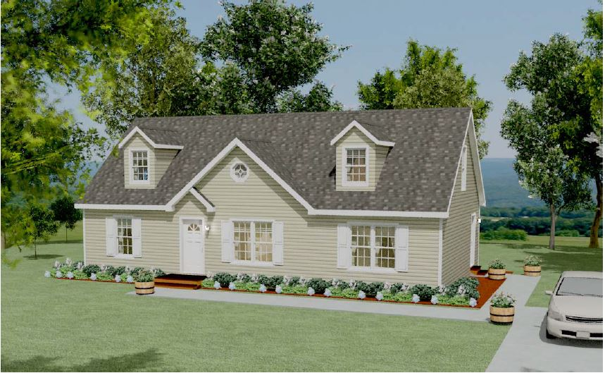Cape house floor plans apex modular homes of pa Modular home in pa