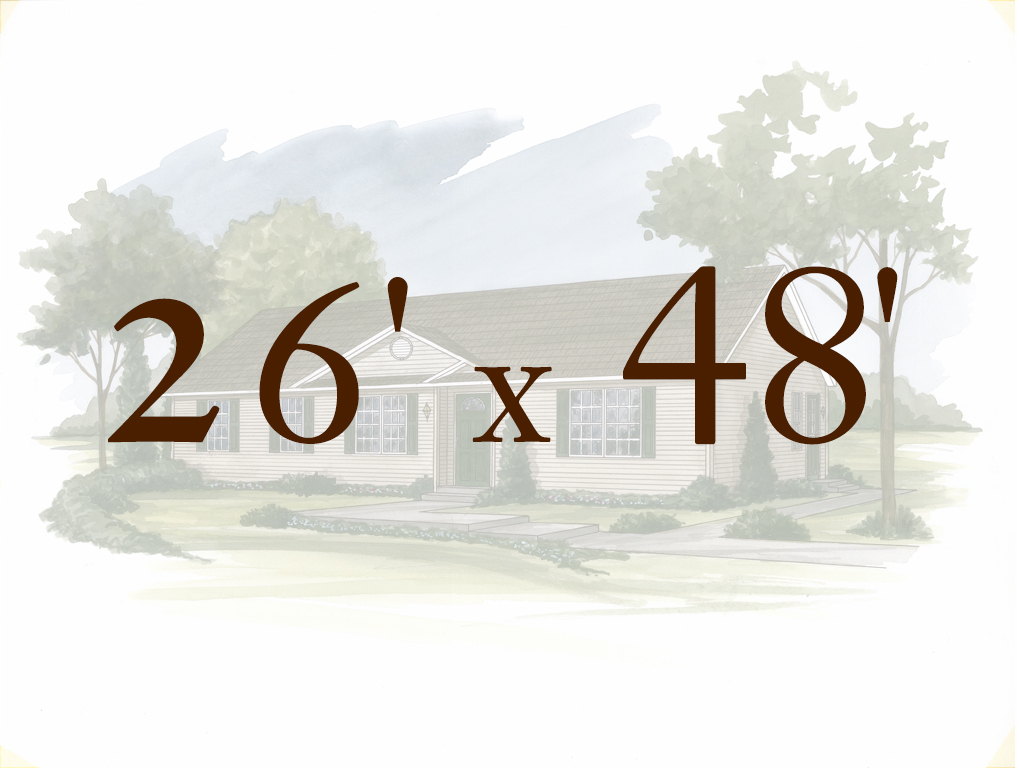 Ranch House Floor Plans | Apex Modular Homes of PA on 26 x 40 home plans, 30 x 30 home plans, 20 x 20 home plans,
