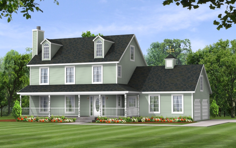 Hickory Two Story Modular Floor Plan Apex Homes