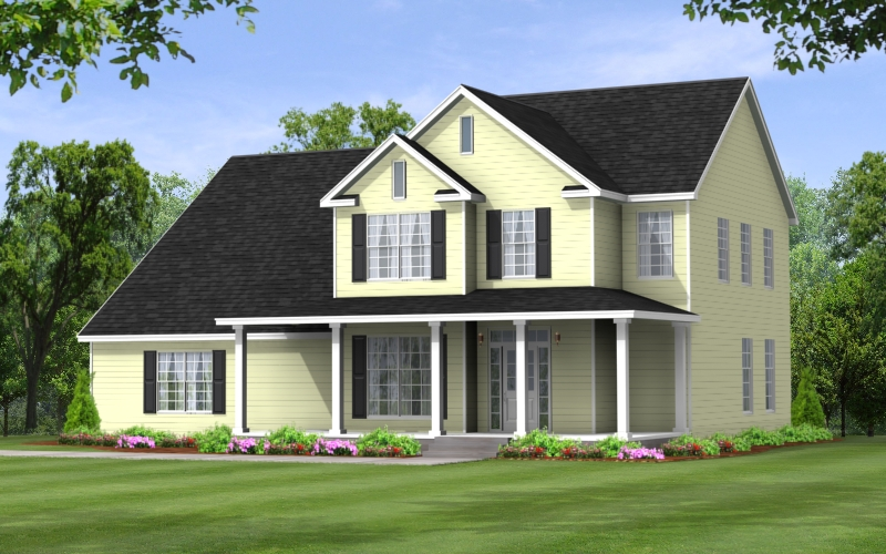 Juniper Two Story Modular Floor Plan Apex Homes