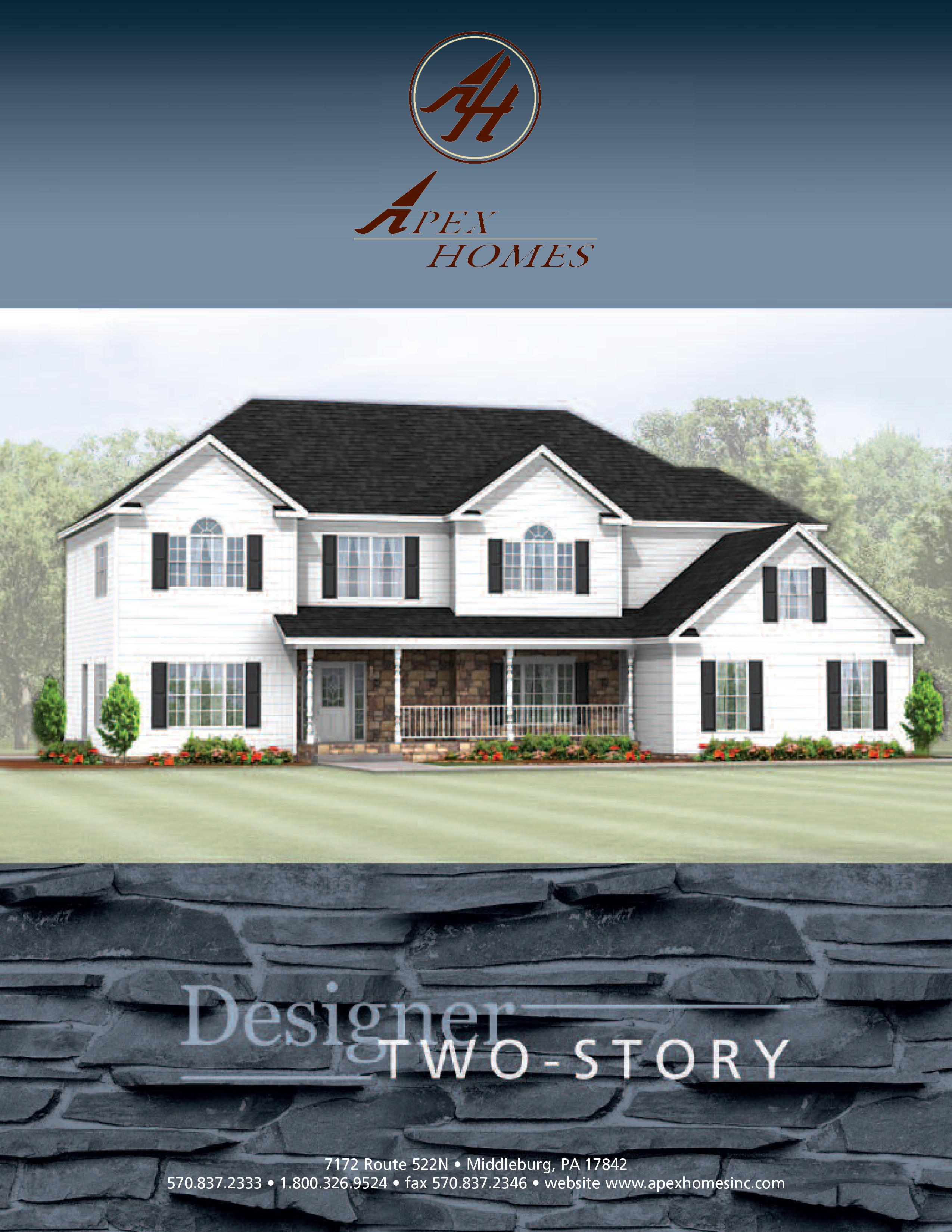 Products | Building a New Home | Apex Homes of PA