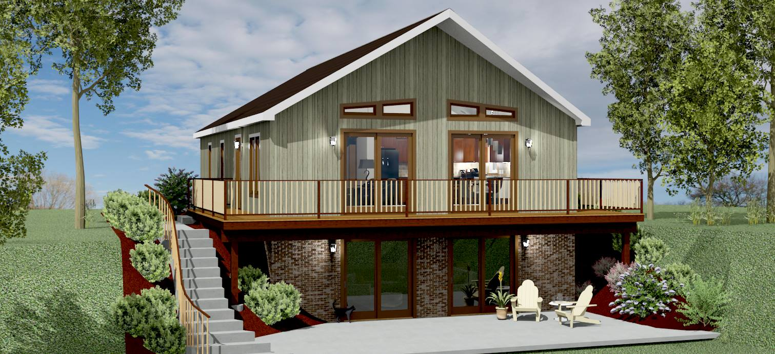 Mountain Chalet House Plans Numberedtype